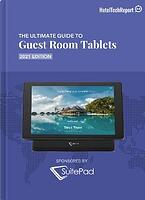 Cover of 2021 Guest Room Tablets Buyers Guide