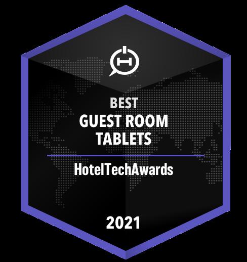 HotelTechAward 2021: Bestes In-Room Tablet