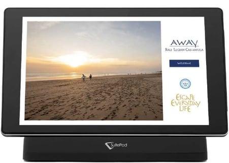 Cross Hotels Bali auf SuitePad Screen