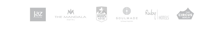 SuitePad Kunden: Design- und Lifestylehotels