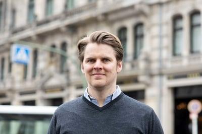 SuitePad Gründer und Geschäftsführer: Moritz von Petersdorff-Campen