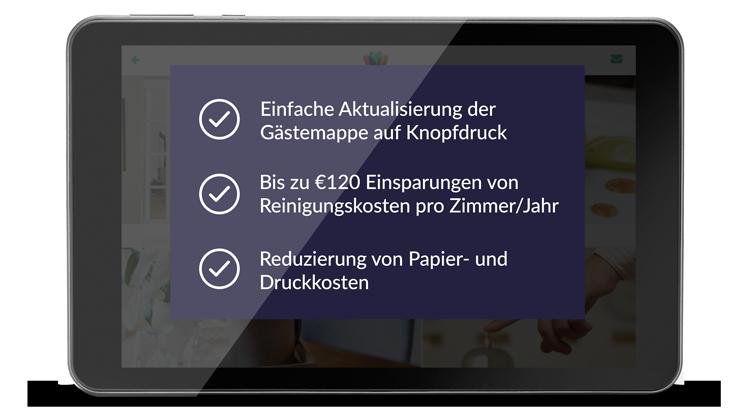 Mit SuitePad Kosten reduzieren und Prozesse optimieren.