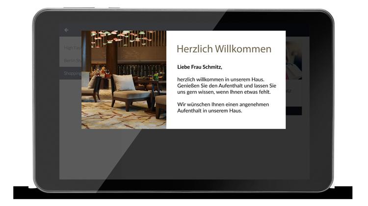 Gästekommunikation verbessern mit SuitePad
