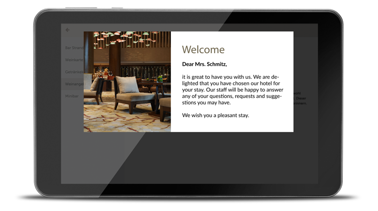 Improving guest communication with SuitePad