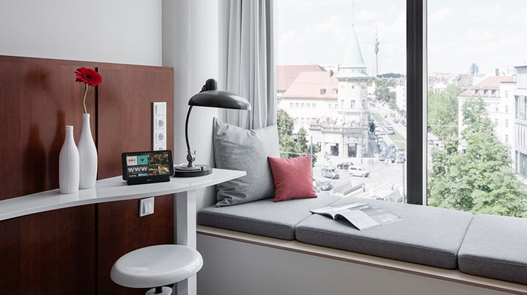 SuitePad im Ruby Lilly Hotel Munich