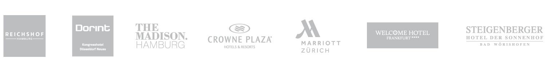 SuitePad Kunden: Geschäfts- und Tagungshotels