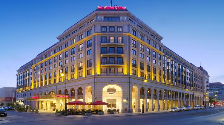 The Westin Grand Berlin counts on SuitePad's digital guest communication tools.