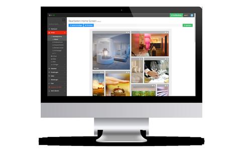 Ihre Vorteile mit SuitePad: Zentrale Verwaltung aller Daten und Inhalte