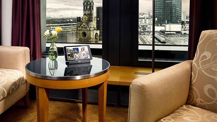 The Swissôtel Berlin uses SuitePad's digital guest directory.