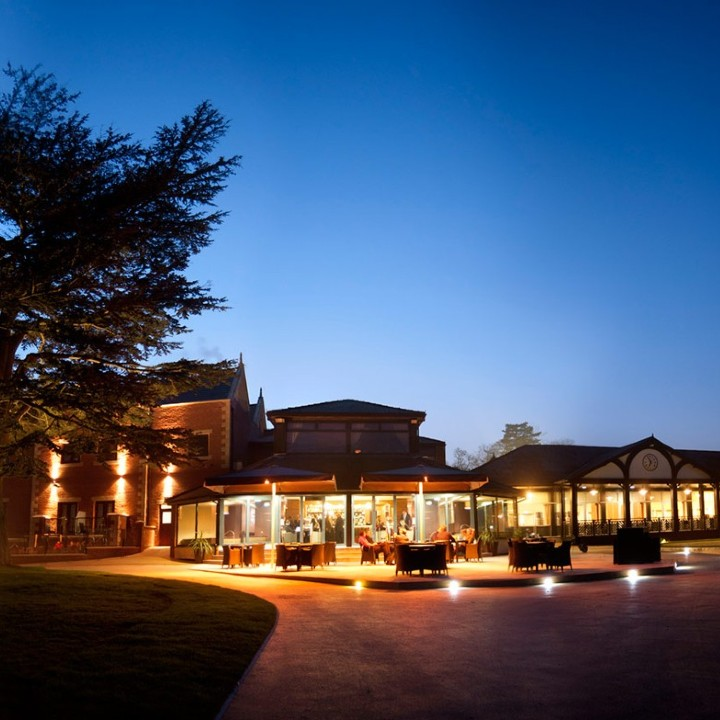 Nice Evening View at The Mere Golf Resort & Spa