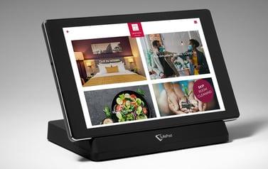 SuitePad Tablet im Leonardo Hotel