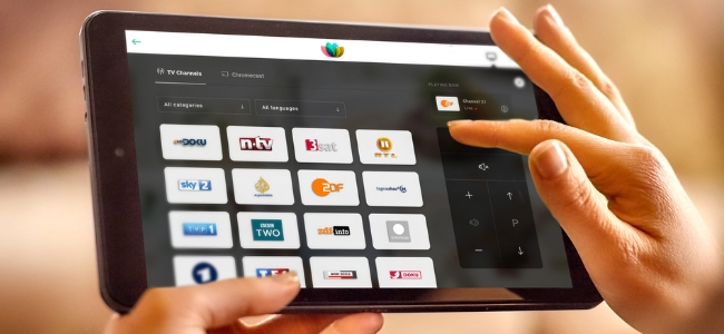 SuitePad TV - the modern hotel TV remote control and more