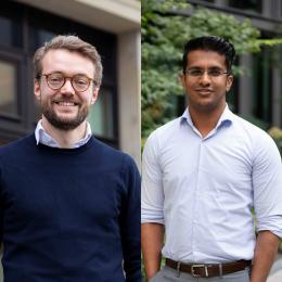 Tilmann Volk (SuitePad) & Sushant Chavan (Ampolon Ventures)
