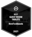 Badge - Best Guest Room Tablets 2021