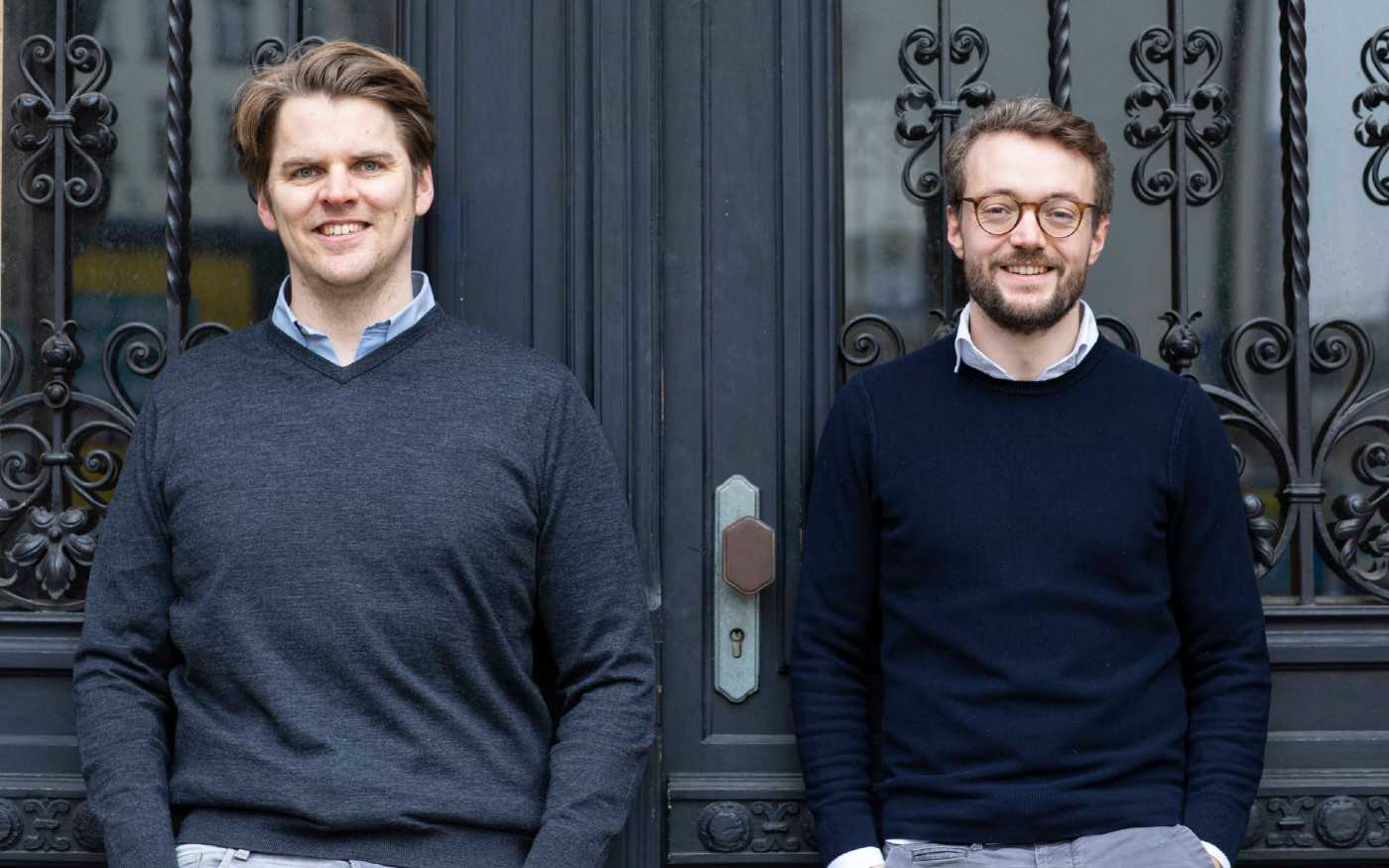 SuitePad Founders Moritz von Petersdorff-Campen and Tilmann Volk